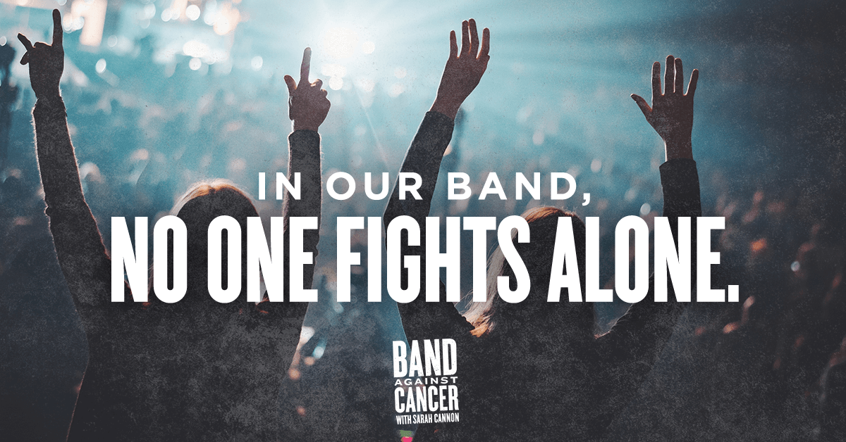In Our Band, No One Fights Alone
