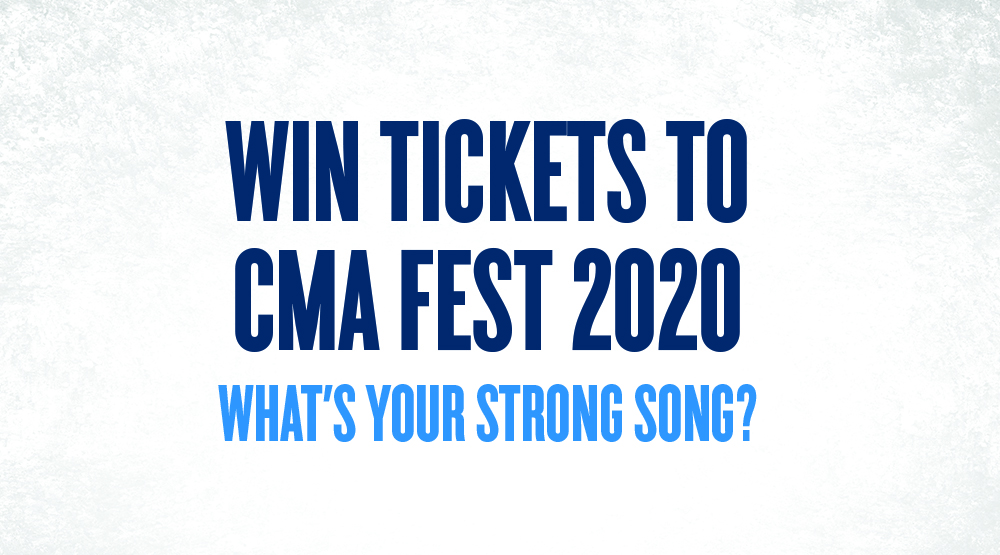 Win Tickets To CMA Fest 2020