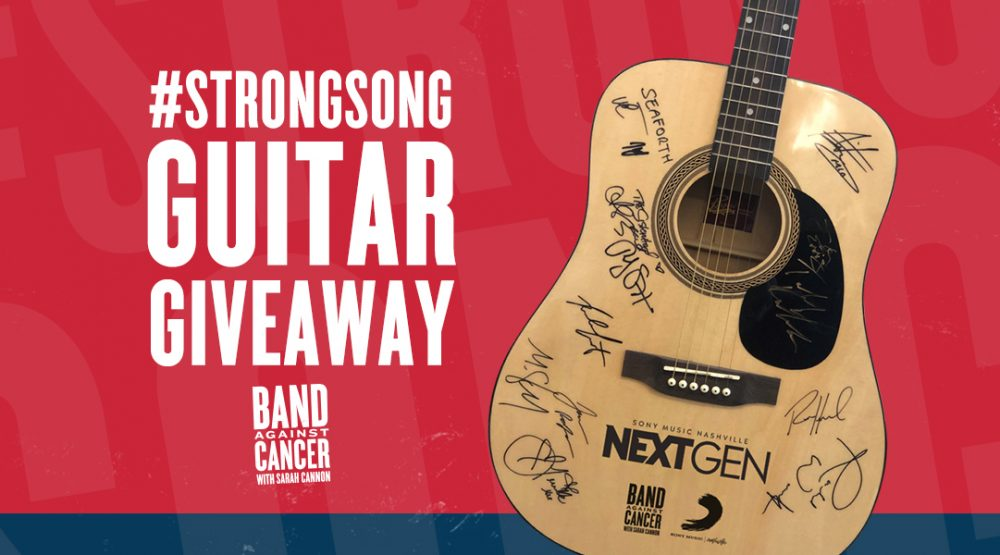 #StrongSong Guitar Giveaway